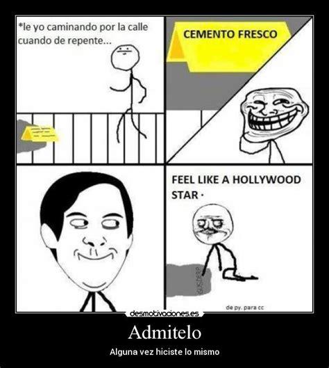 imagenes de memes troll en español admitelo desmotivaciones