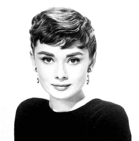 short movie star hairstyles the amazing audrey hepburn a legacy for education
