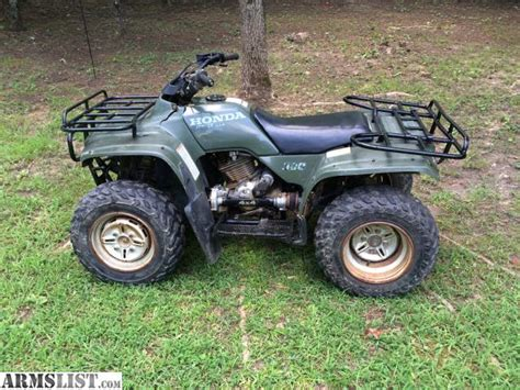 armslist for sale trade 1997 honda fourtrax 300 4x4