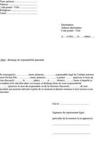 Modeles De Lettre D Autorisation Parentale Modele Lettre Autorisation Parentale Voyage Document
