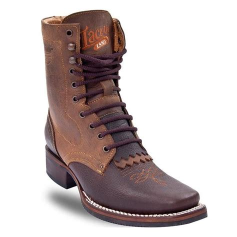 mens lace up cowboy boots 93 best waynes shoes images on zapatos