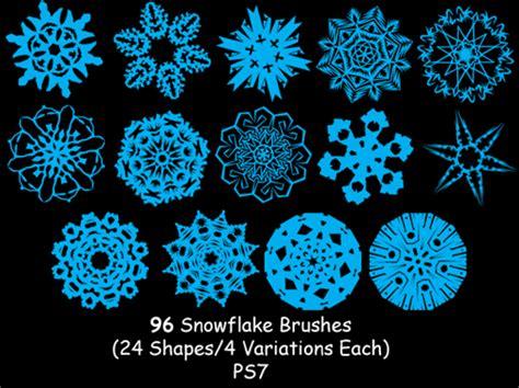 snowflake pattern brush photoshop snowflakes photoshop brushes for snowy designs photoshop