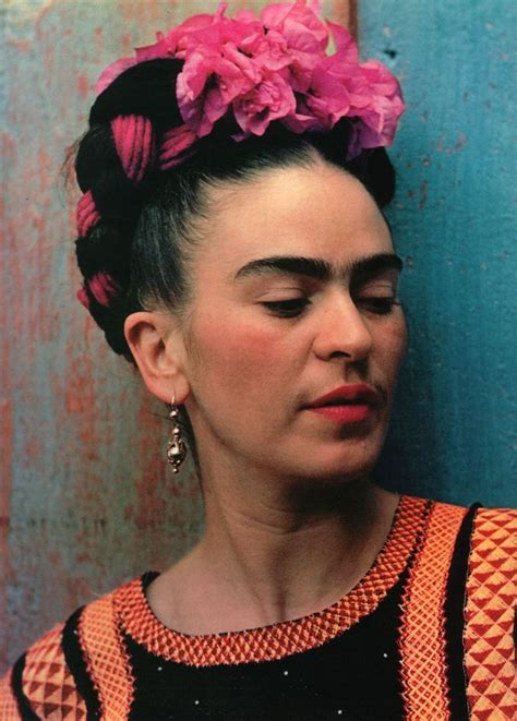 Frida Kahlo Hairstyle by Homecollection Frida Kahlo Hairstyle