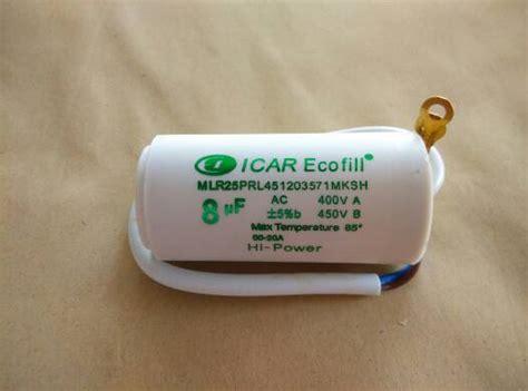 icar ecofill capacitor 12 5 jual capasitor bulat icar ecofill 16mf 450v pompa air