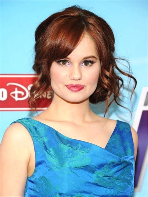 Debby Hairstyles by Pictures Of Debby Side Swept Curly Updos
