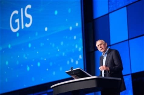 jack dangermond esri founder  president  share  inspiring thoughts  gis