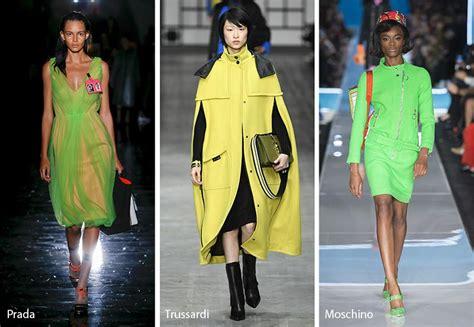 Graduate Fashion Week Trendwatch Nineties Neon by 9 Winning Fall 2018 Fashion Trends From Milan Fashion Week