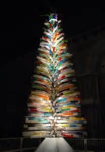 christmas tree made of murano glass decoist