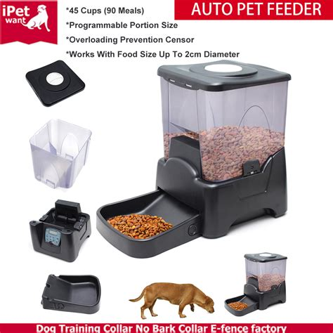 automatic feeder with timer automatic cat pet feeder with timer food dispenser buy automatic pet feeder