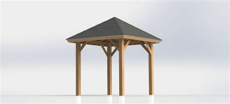 square gazebo free square gazebo plans pergola design ideas