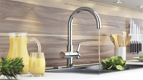 reviews on kitchen faucets grohe kitchen faucet all faucets world
