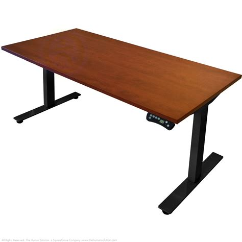 sit stand desk electric electric sit stand desk shop conset 501 29 laminate
