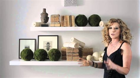 Decoration Ideas For Apartments kelly hoppen simple organic shelves design youtube
