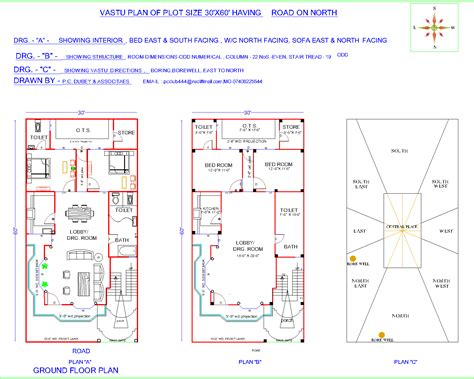 home design plans 30 60 30 x 40 house plan east facing home plans 60 residential