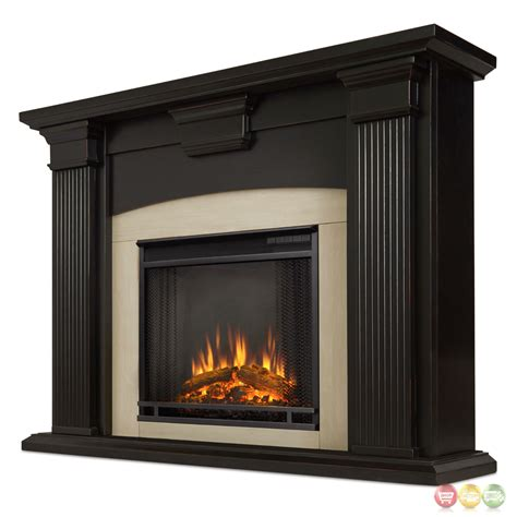 Fireplace Electric Heater Adelaide Electric Led Heater Fireplace In Antique Black 4700btu 51x39