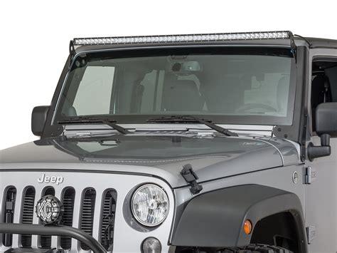 Jeep Tj Led Light Bar Hyline Offroad 400600100 Led Light Bar Mount For 07 17
