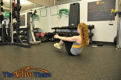 boat pose crunches get fit quick best beach body workout the active times