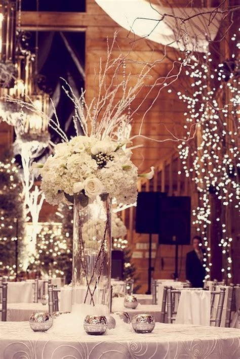 winter centerpieces 15 creative winter wedding ideas hative