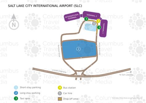 slc airport map about salt lake city international airport slc