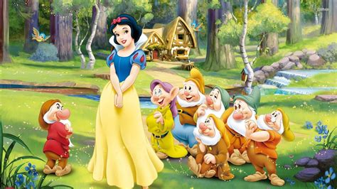 snow white and the seven dwarfs snow white and the seven dwarfs wallpapers wallpaper cave