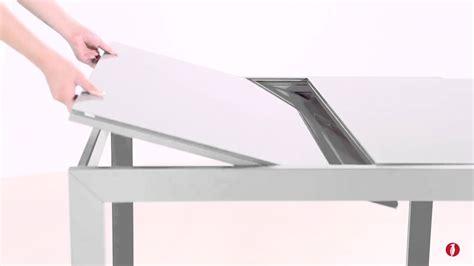 tavolo cristallo allungabile calligaris tavolo allungabile key per pranzo o cena calligaris cs4044