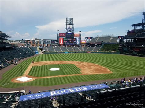 coors field section 225 rateyourseats