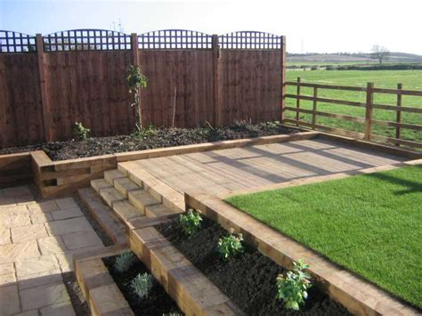 Garden Sleeper Ideas Railway Sleepers