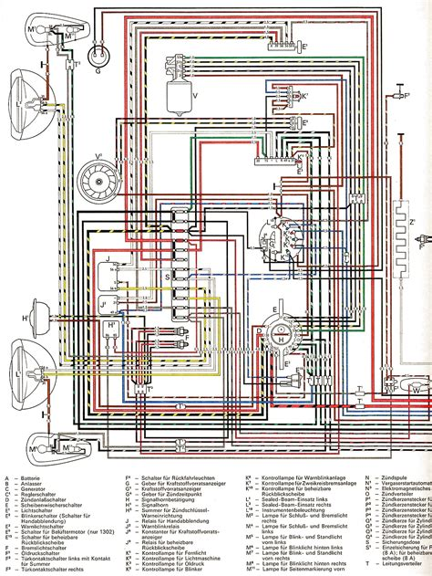 1971 vw beetle wiring diagram 1971 vw beetle voltage