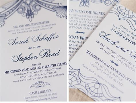 1920s style wedding invitations v146 our muse 1920 s inspired outdoor wedding