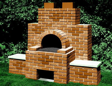 Backyard Brick Bbq Pits Fire Pit Design Ideas Backyard Brick Grill