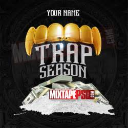 mixtape design templates mixtape cover trap season psd mixtapepsd