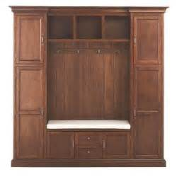 royce 4 hook contemporary wood all in one mudroom