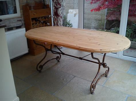 shabby chic 6 ft kitchen dining table solid pine top