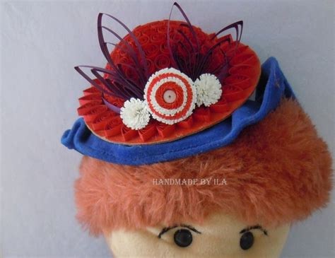 quilling hat tutorial 1000 images about quilled hats on pinterest quilling