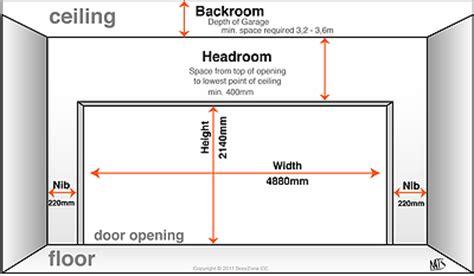 how to measure your doorzone 174 garage door