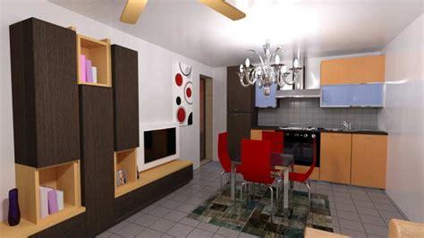 render interno rendering interno cucina con arredamento