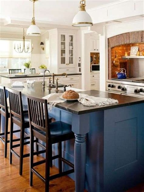 see thru kitchen blue island best 25 blue kitchen island ideas on blue