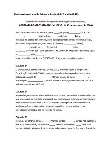 contratos modelo modelo contrato