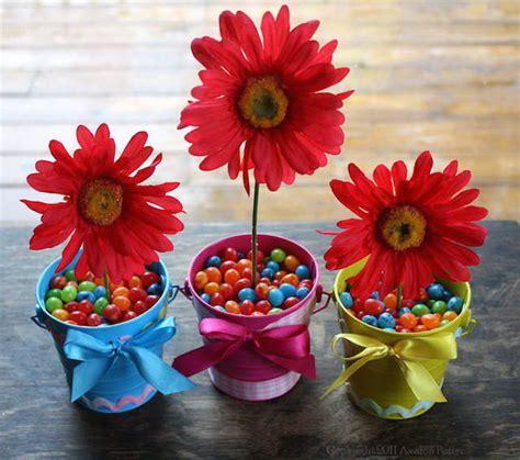 centerpieces craft estupendos arreglos florales para fiestas infantiles