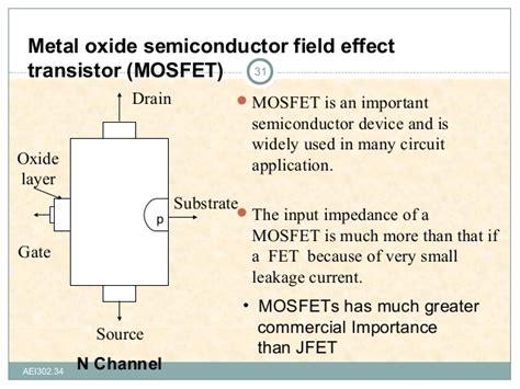 transistor effect field effect transistor