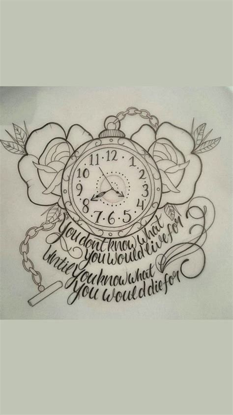 time tattoo clock tattoos time heals all pictures to pin on