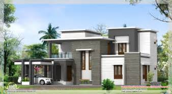 house designs kerala style low cost home design sq feet contemporary villa plan and elevation