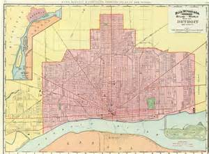 image gallery detroit map 1930
