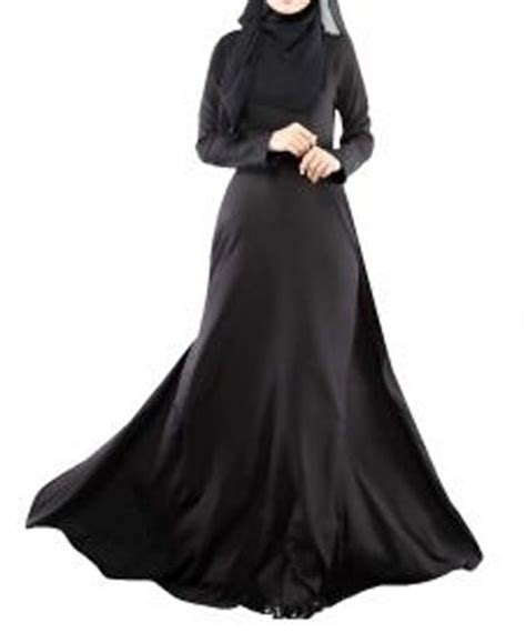 Abaya Saudi Bordir Gold simple black plain abaya designs 2016 2017 islamic burka