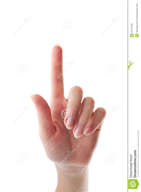 What Will Show Up On A Fingerprint Background Check With A Finger Touching Somethimg Royalty Free