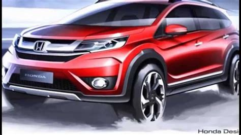 honda brv honda brv first official sketches youtube