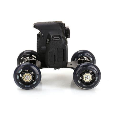 Black Truck Skater Wheel Table Top Compact Dolly Slider Kit Dslr car dolly ratings 2017 2018 best cars reviews