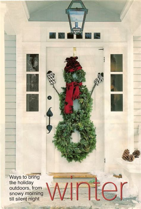 Ideas For Wreaths For The Front Door 40 Front Door Decorations Ideas The Xerxes