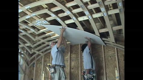 What Is A Ceiling Made Of by How To Drywall A Groin Vault Ceiling With Archways