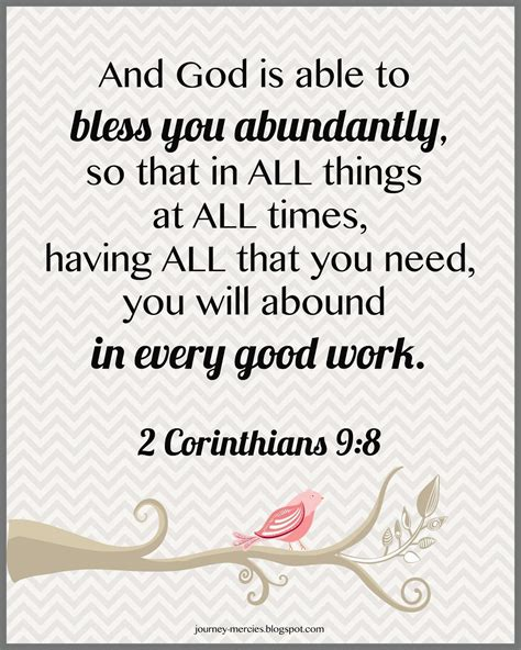 pattern of good works 2 corinthians 9 8 you will abound in every good work